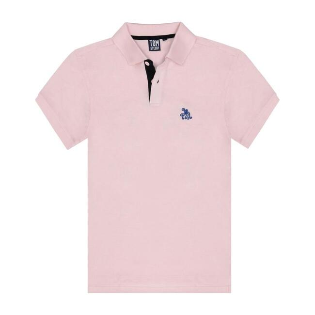 Mens Polo, Pastel Pink