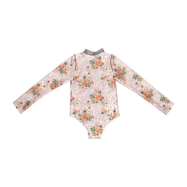 Bonnie Long Sleeve Swim Suit, Pink