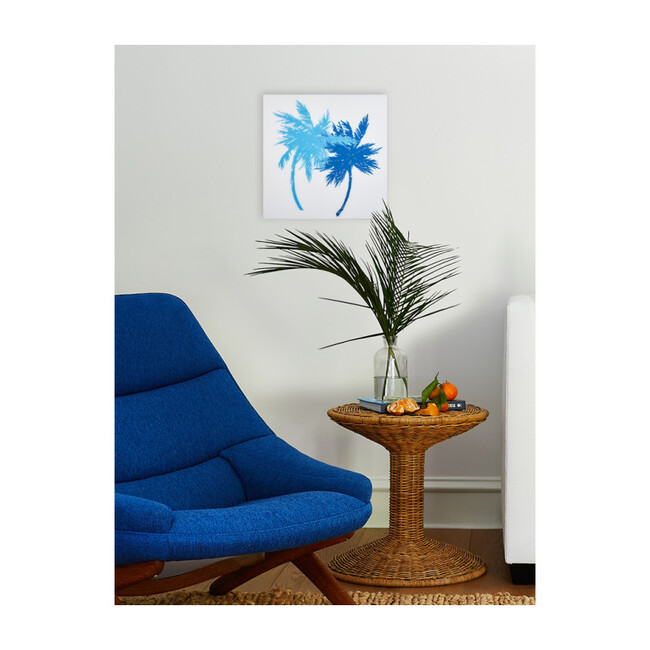 Oceanside Palms on Acrylic, Small