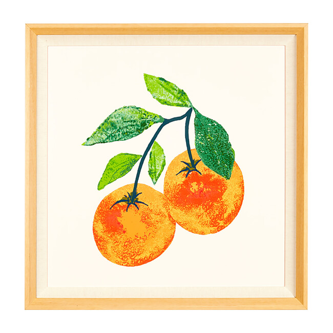Valencia Oranges by Nathan Turner