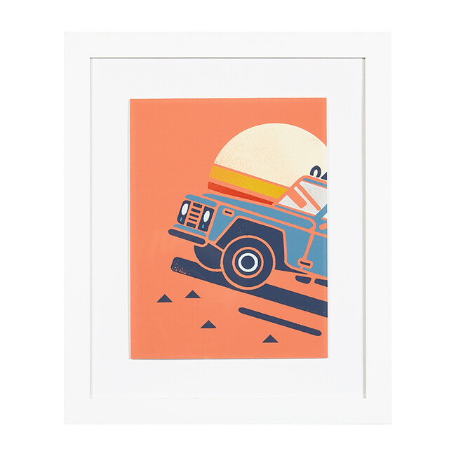 Sunset Jeep by Tea Collection