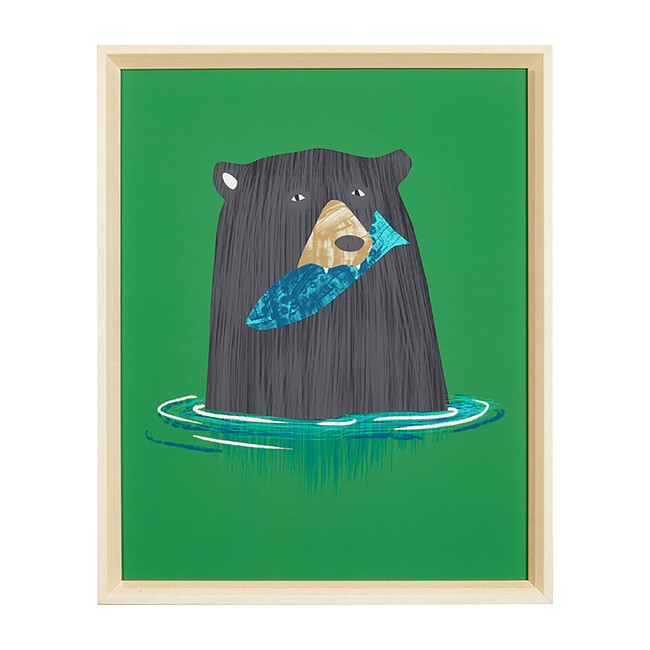 A Bear and His Fish by Tea Collection
