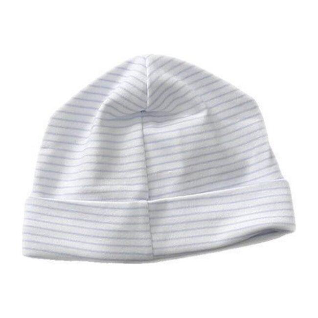Classic Stripe Receiving Hat, Light Blue