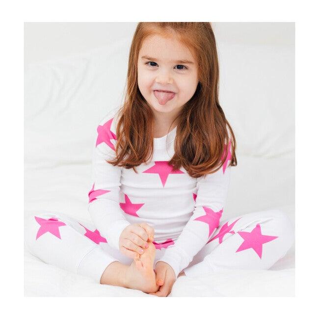 Bold Star Pajamas, Pink