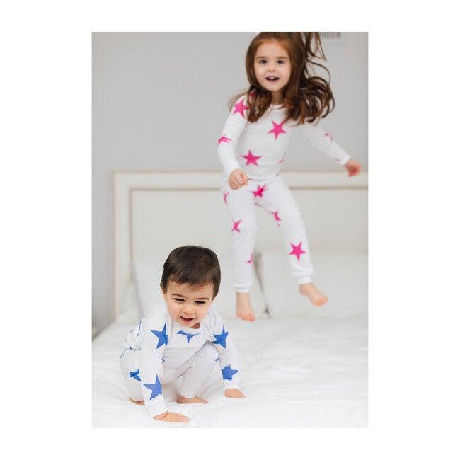 Bold Star Pajamas, Blue