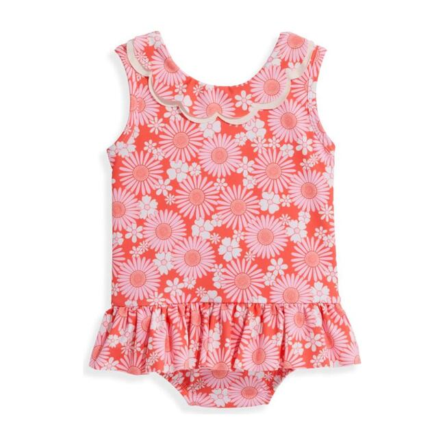 Printed Summer Bathing Suit, Daisy Floral