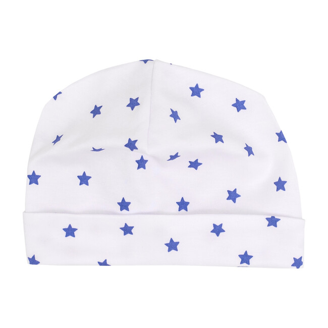 Mini Stars Receiving Hat in Blue