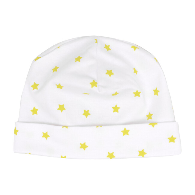 Mini Stars Receiving Hat in Yellow