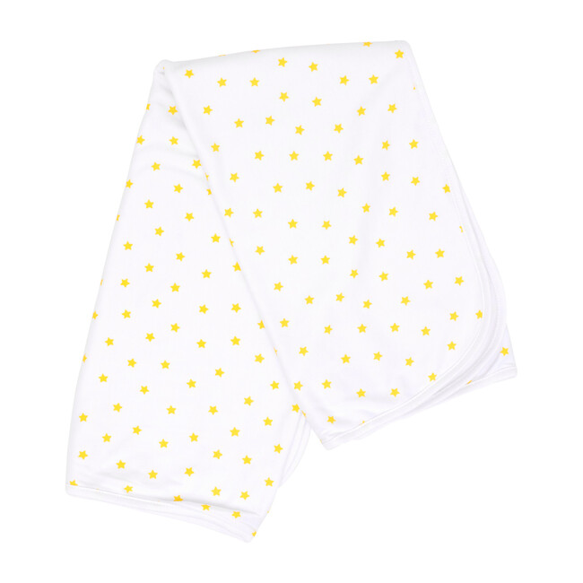 Mini Stars Bib in Yellow