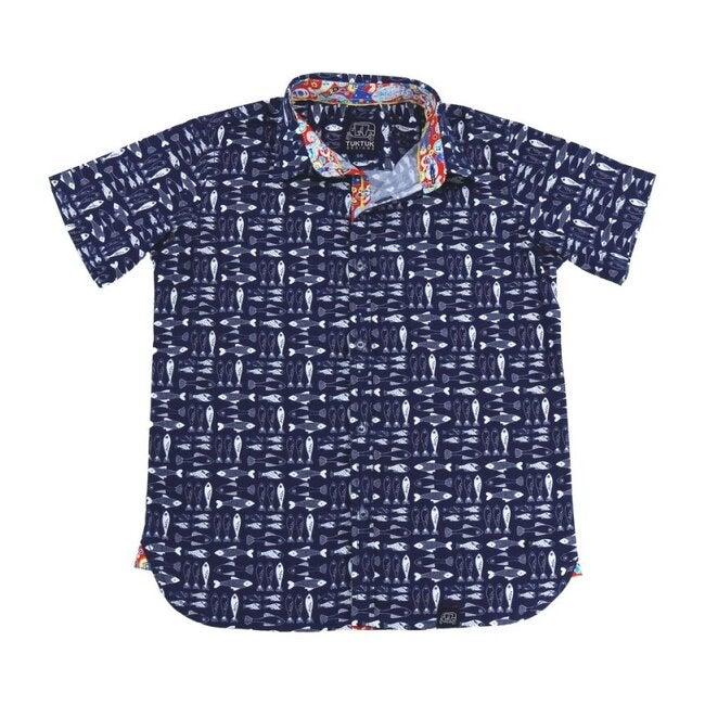 Bluefin Short Sleeve Shirt, Blue