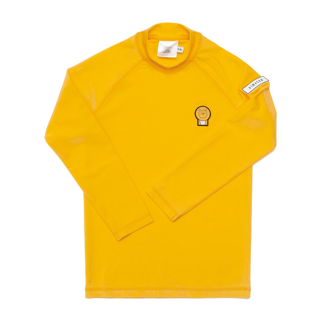 Kids Cub Rash Guard,Yellow