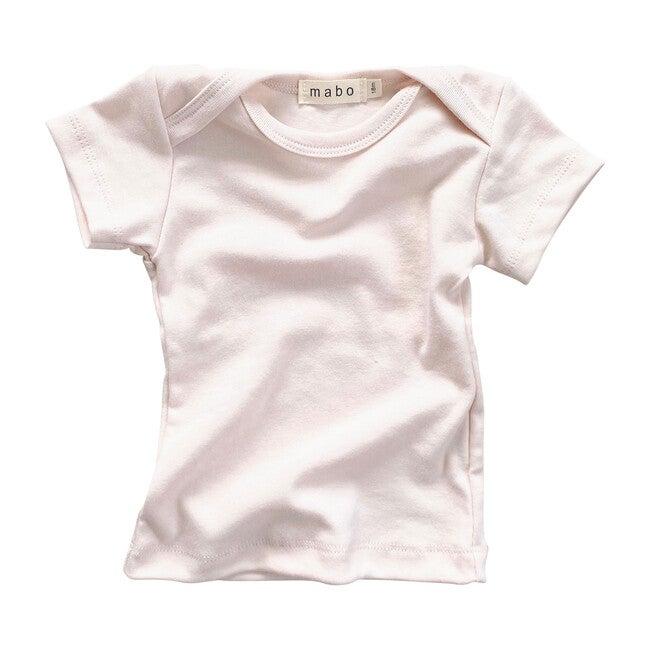 Organic Cotton Lap Tee Short Sleeve, Blush