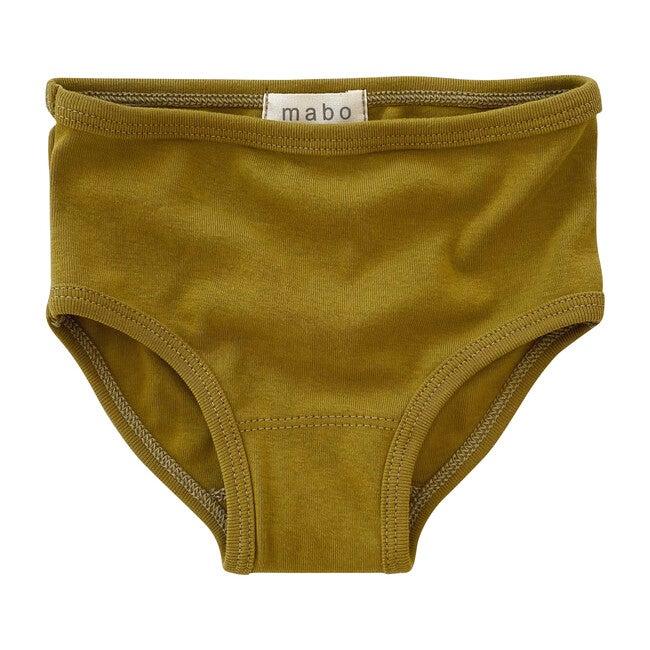 Organic Cotton Basic Underwear, Chartreuse
