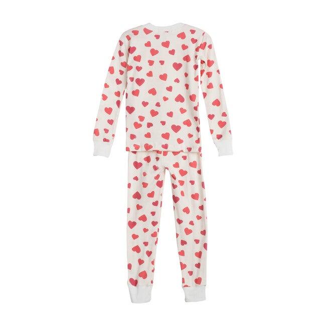 Red Hearts Pajama Set