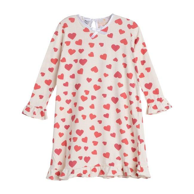 Red Hearts Loungewear Dress