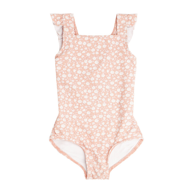 Melone Floral Crossover One Piece
