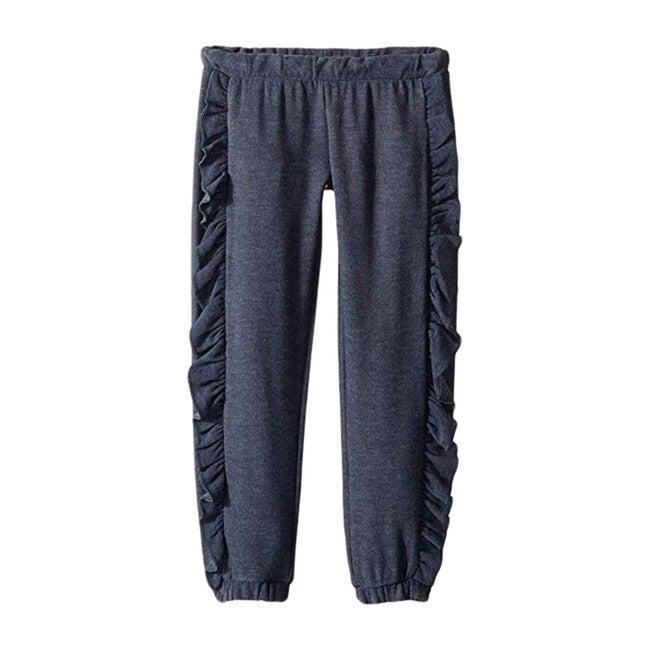 Cozy Knit Ruffle Side Jogger, Avalon