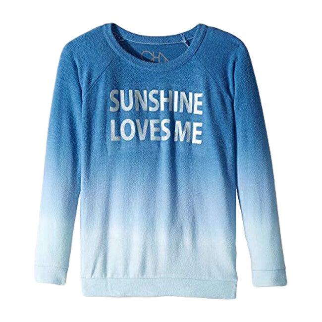 Love Knit Sunshine Loves Me Raglan Pullover, Ombre