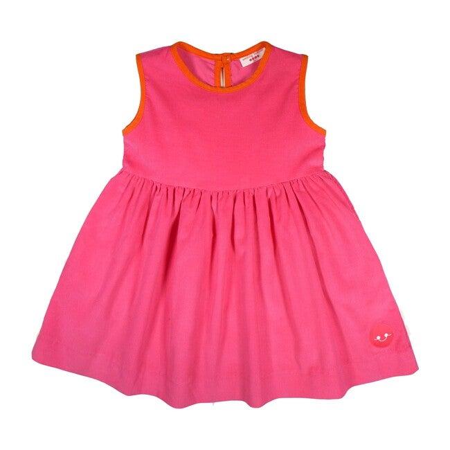 Pinny Dress, Pink Corduroy