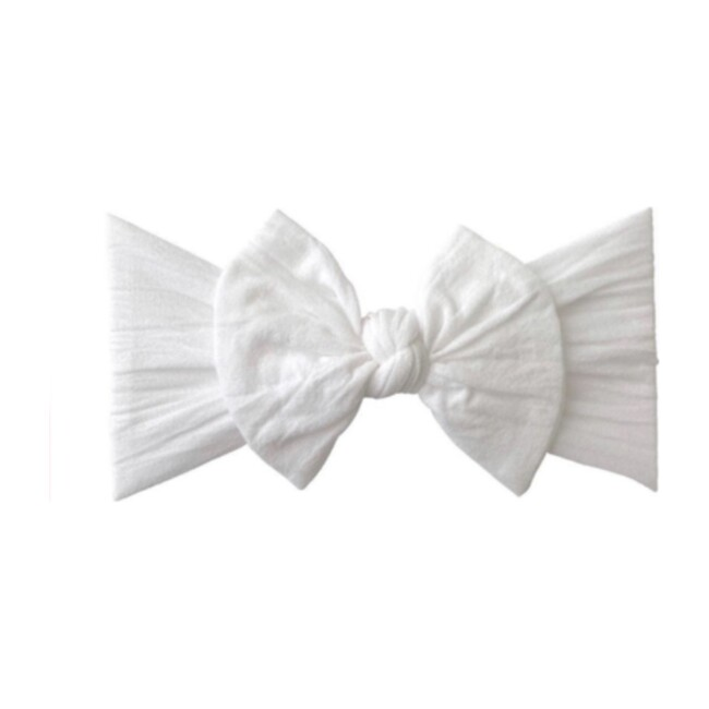 Classic Bow, White