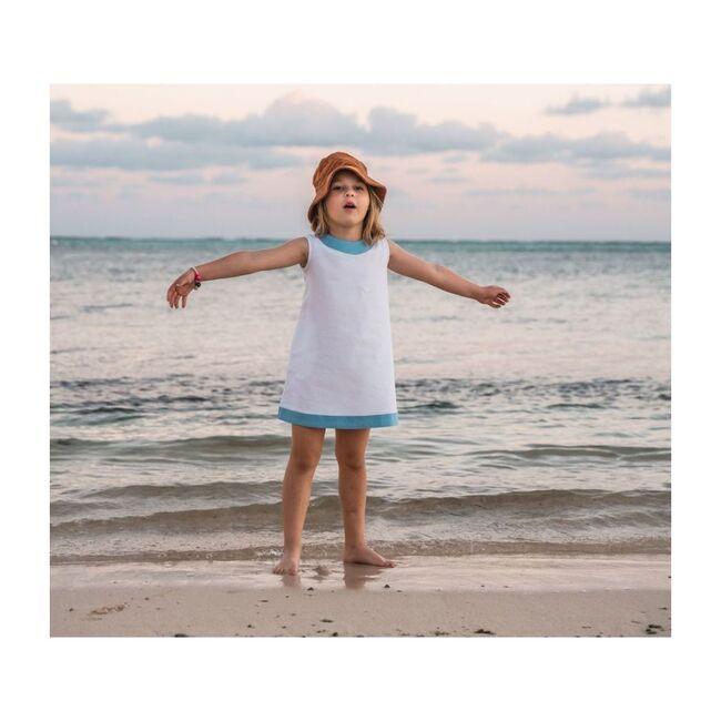 Seaside Shift Dress, White