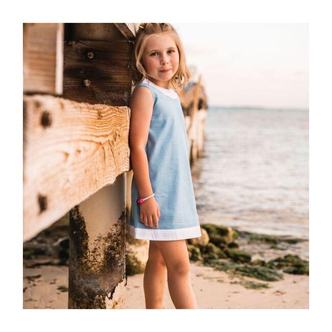 Seaside Shift Dress, Blue