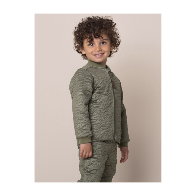 Derri Thermal Jacket, Deep Green