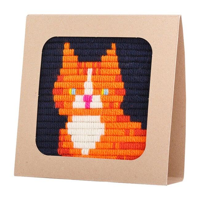 Needlepoint Kit, Ginger Cat