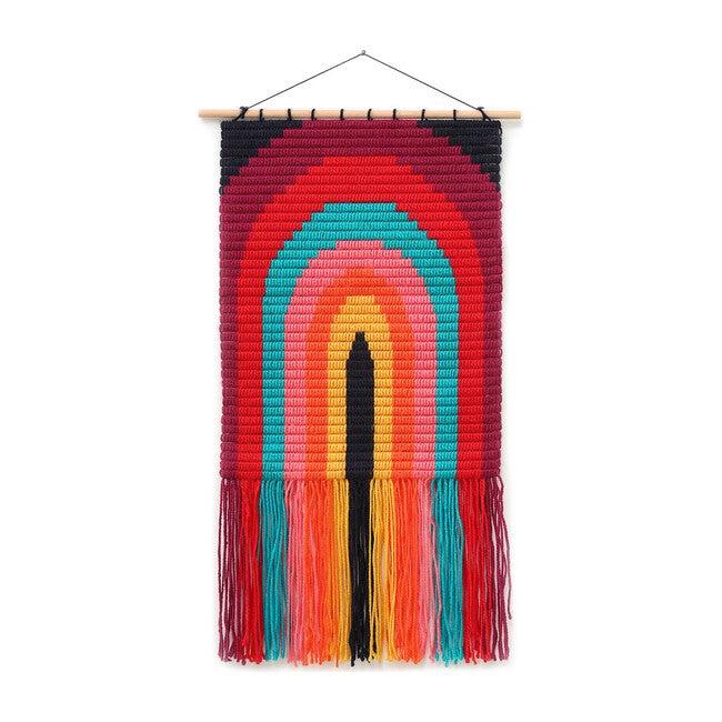 Wall Art Needlepoint Kit, Rainbow