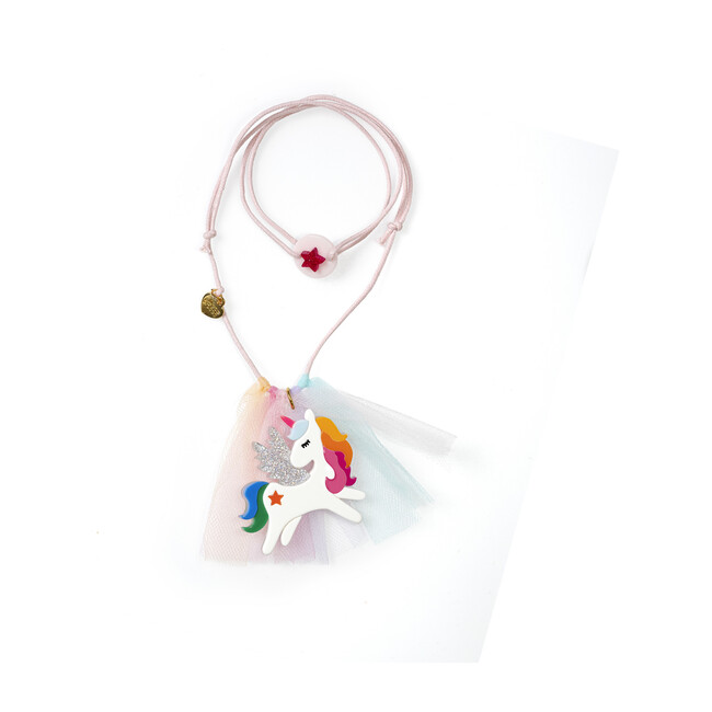 Unicorn Rainbow Wing Necklace