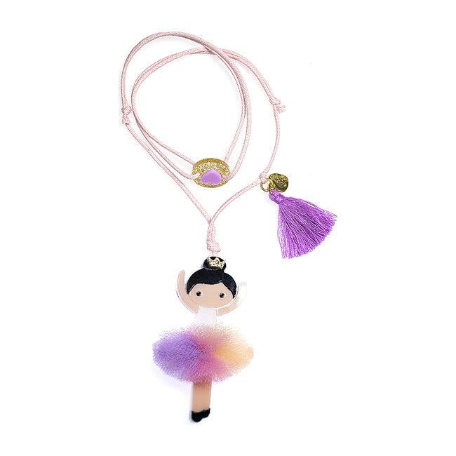 Ballerina Rainbow Tutu Necklace