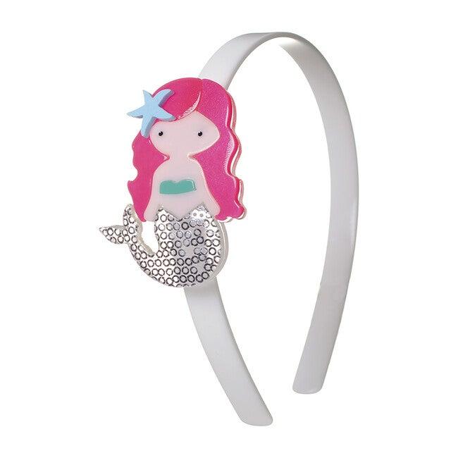 Mermaid Neon Pink Hair Headband