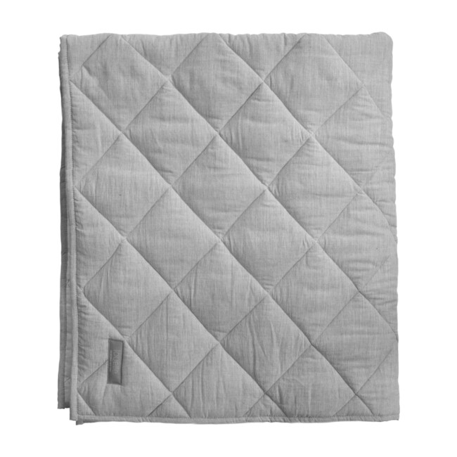 Quilted Playmat, Husk Grey