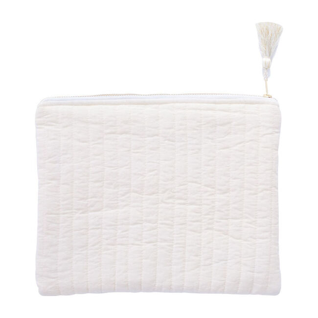 Linen Pouch, Blossom Pink