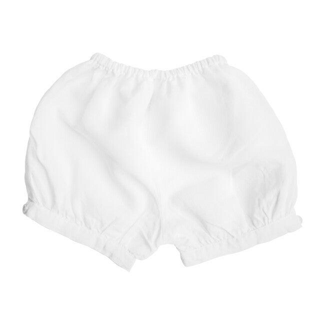 Boys Short, White Linen