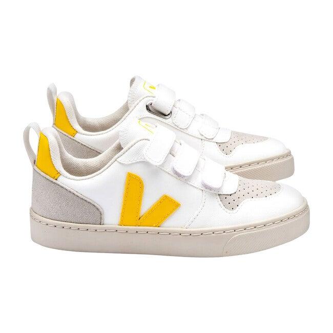 V-10 Velcro Sneakers, White