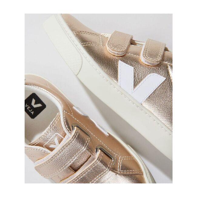 Esplar Velcro Platinum Sneakers, Platinum