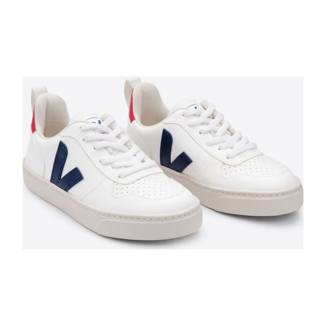 Adult V-10 Lace Sneakers, White