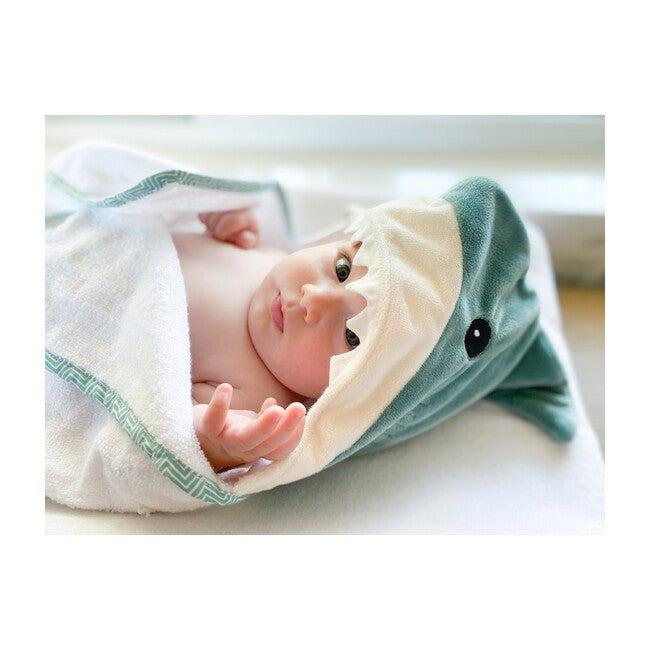 Shark Baby Terry Towel