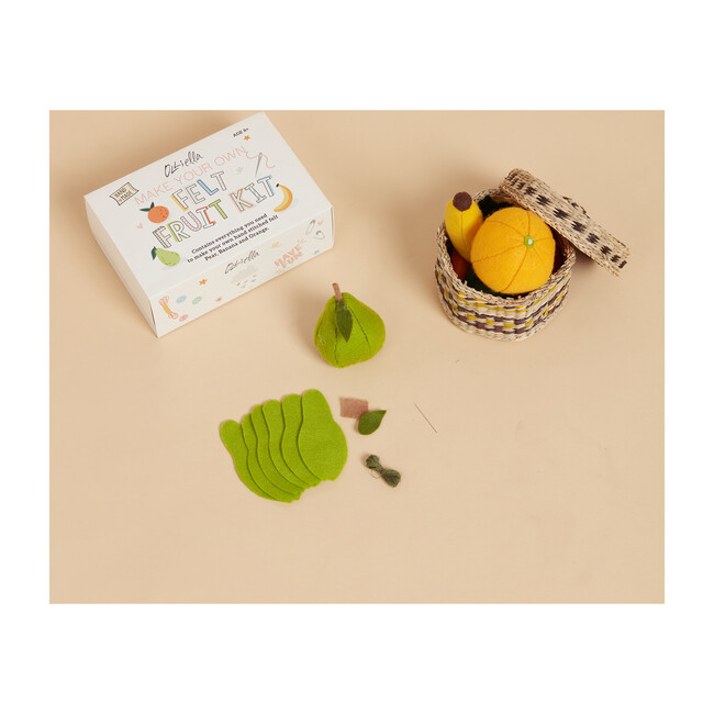 Felt Fruit Craft Set, Multi