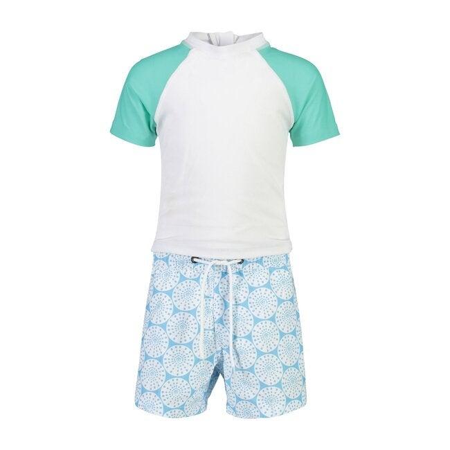 Oceania Sustainable Short Sleeve Baby Swim Set