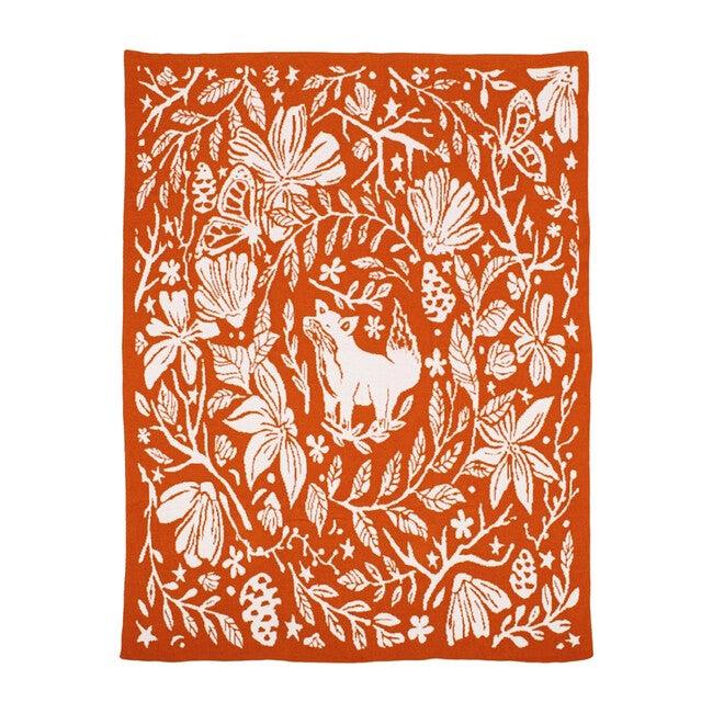 Organic Cotton Blanket, Fox