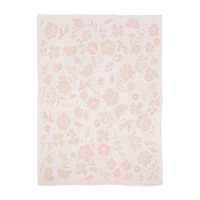 Organic Cotton Blanket, Floral