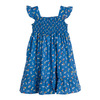 Daria Dress, Blue Flower Pots - Dresses - 1 - thumbnail