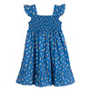Daria Dress, Blue Flower Pots - Dresses - 3