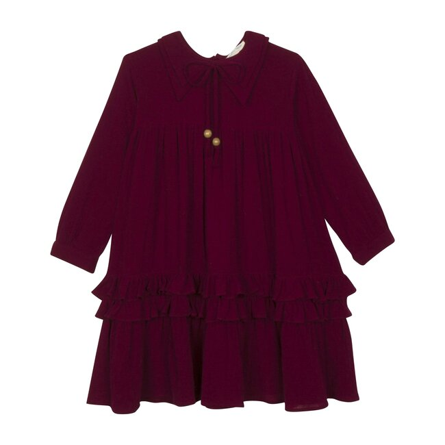 Ava Dress, Dark Currant