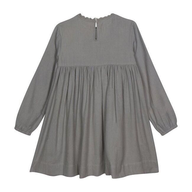 Cate Boho Dress, Harbor Gray