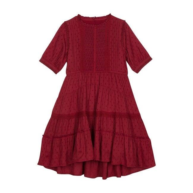 Dreamy Rosalynn Dress, Currant