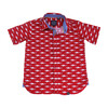 Short Sleeve Mako Sharks, Red - Shirts - 1 - thumbnail
