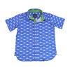 Short Sleeve Mako Sharks, Blue - Shirts - 1 - thumbnail